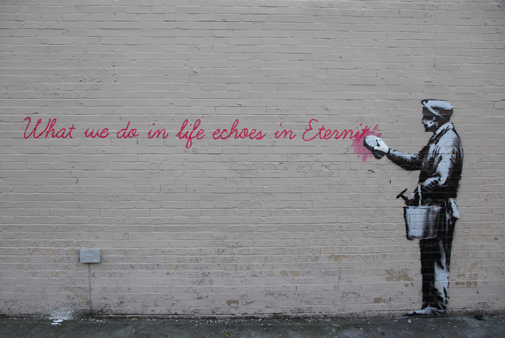 Banksy, New York.